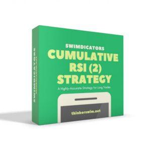 Cumulative RSI 2 trading Strategy for thinkorswim