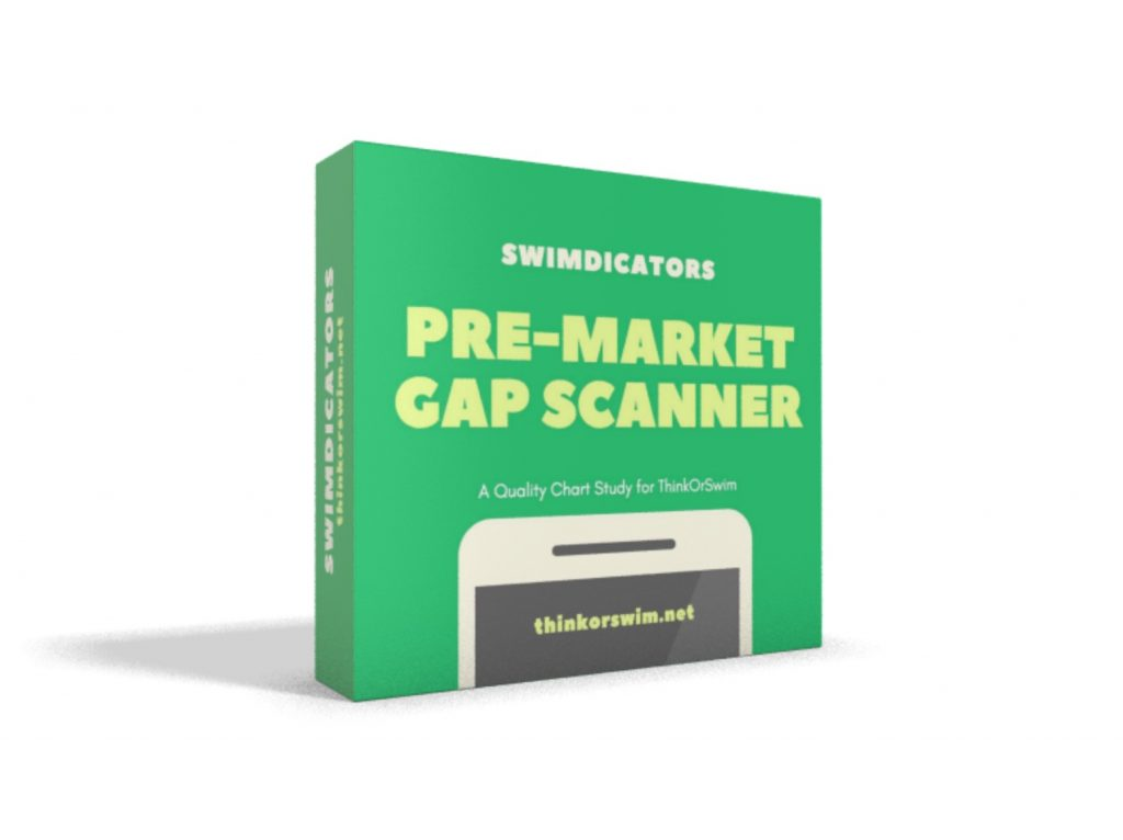 premarket movers gap scan for thinkorswim